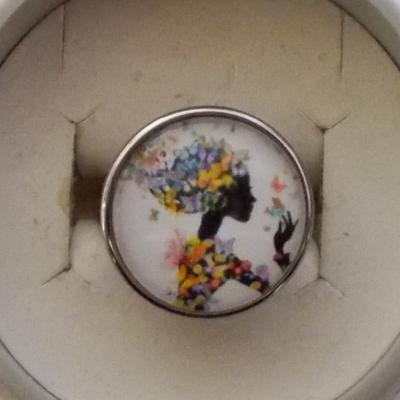 "Bague ""Miss Tigri"" butterfly"